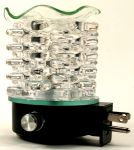 Star Shape Clear Crystal Plug-in Oil Warmer