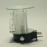 Clear Glass Plug-in Oil Warmer