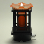 Chinese Wooden lantern Plug-in Oil Warmer