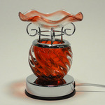 Crystal Glass Electric Touch Oil Warmer