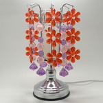 Red Flower Crystal Touch Oil Warmer