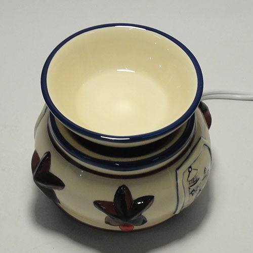 C 311 Electric Ceramic Simmer Pot Warmer Ceramic Oil Warmer