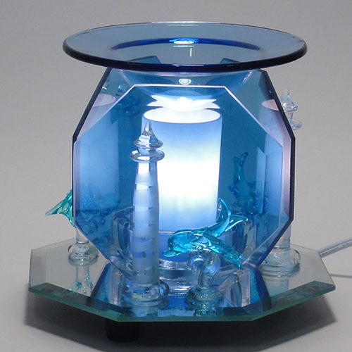 Electric Oil Warmers ~ Glass mirror oil warmer