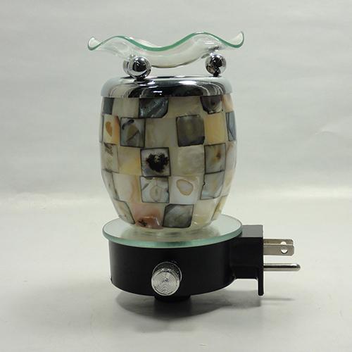 E 730 Plug In Oil Warmer Night Light Glass Oil Warmers